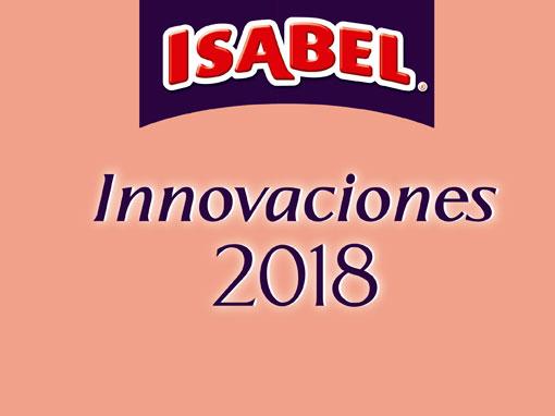 Innovaciones 2018 – ISABEL