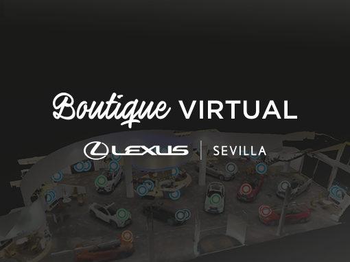 Boutique Virtual-Lexus Sevilla